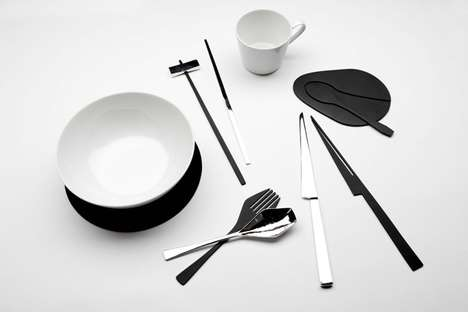 Kijtanes Kajornrattanadech Designs Illusionary Tableware
