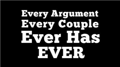 Angry Spousal Verbal Exchanges