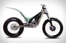 Lizard Tail Motocycles - The OSSA TR 280i Trial Bike is Lightweight and Temperature-Regulated