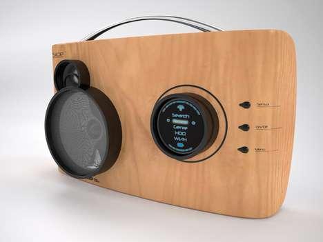 Modernized Retro Stereos