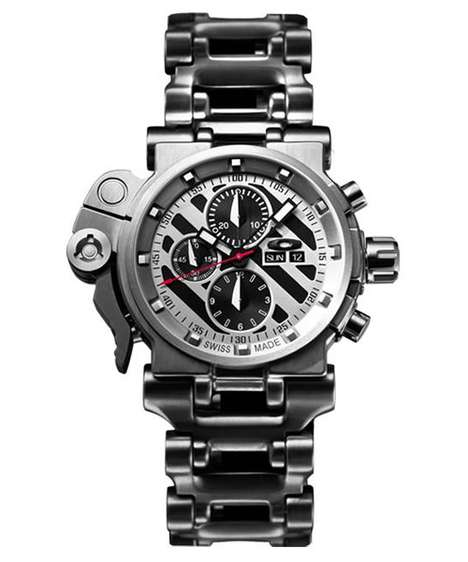 Heavy-Duty Metallic Timepieces