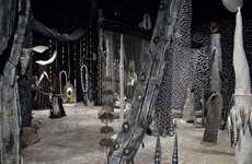 Enchanting Forest Exhibits - Matthew Ronay's Between the Worlds Installation Explores Rituals