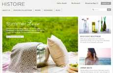 Social Good Shopping Sites - 'Histoire' Boutique is an Online Store Devoted to Creating a Just World