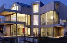 Impressive Visionary Villas  - The Belmont Dream Home Takes Architecture to New Heights