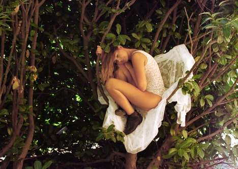 Tree-Climbing Lingerie Shoots