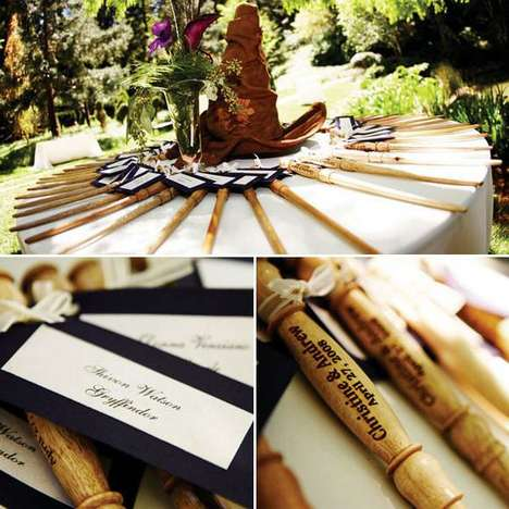 Wizardly Weddings - Potterheads Have a Magical Harry Potter Wedding