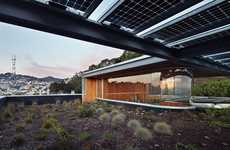 Rooftop Garden Abodes - The Craig Steely Eureka Valley Home Combines Modernity with Nature