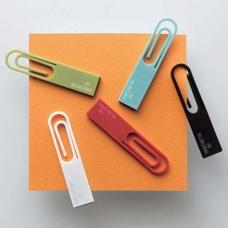 Paperclip Data Sticks