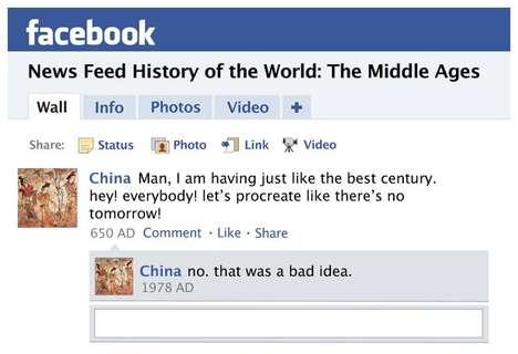 Satiric Medieval Social Media
