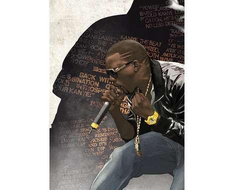 29 Artful Kanye West Depictions