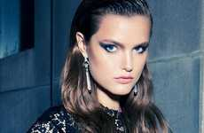 Demure Smoky-Eyed Editorials - This Katie Fogarty Vogue Australia Spread Plays Coy