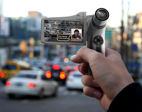 Two-Way Shooting Camcorders