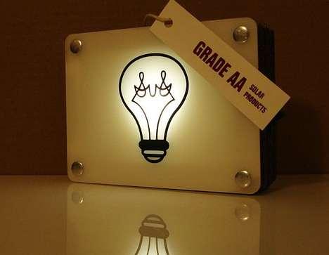 Vintage Solar Lamps