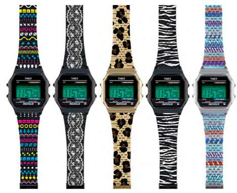 The Timex 80 Metal Collection Offers Wild Prints for Your Wrists