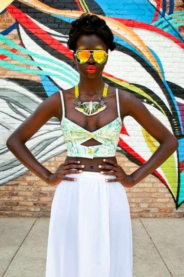 Vibrant Street Fashion Spreads