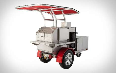 Portable BBQ Smokers - The Rolltisserie for the Backyard Grill Cook On the Road