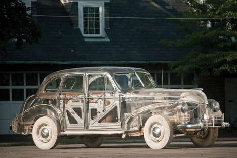 Vintage Transparent Cars - The 1939 Pontiac Deluxe Six 'Ghost Car' is Throwback Terrific