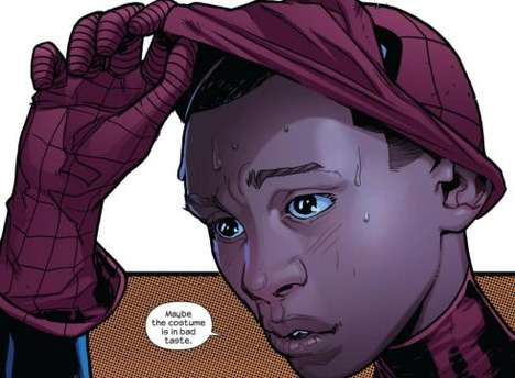 Superhero Ethnicity Revamps - African American and Hispanic Miles Morales is Now Spiderman