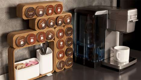 Cleverly Convenient Coffee Sets - The All-in-One Aroma Coffee Station will Help with Busy Mornings