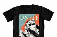 Sci-Fi Propaganda T-Shirts - These Mighty Fine Star Wars Tee Designs are Reminiscent of World War II