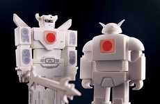 Charitable Transformer Memory Sticks - Incubot USB Flash Drive Helps Japanese Earthquake Victims