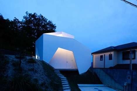 Minimalist Geometric Residences