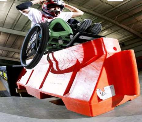 Extreme Acessible Wheelers - The Defiance Wheelchair Will Have You Doing Wheelies on the Skate Park