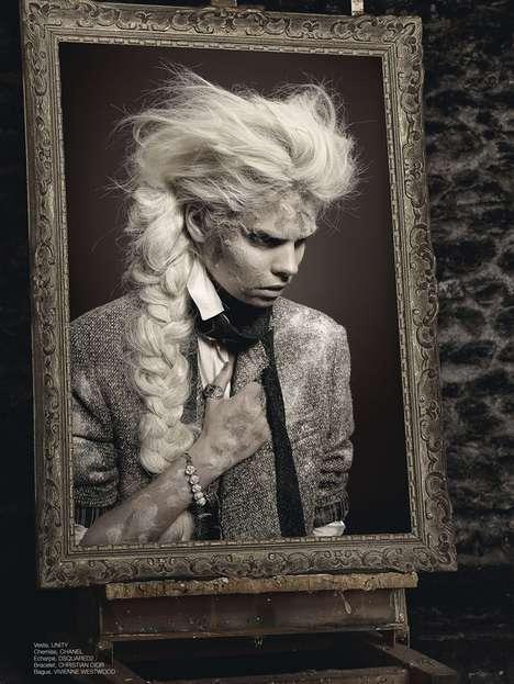 Literary Fashion Photography