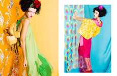 Youthfully Exotic Photography - The Spous SS11 Campaign is Colorfully Childlike