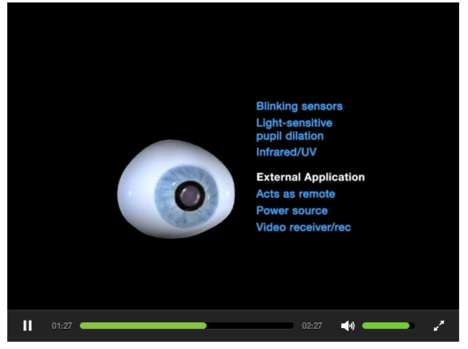 Augmented Eye Cameras