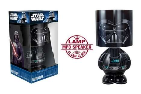 Dark Force Illuminations - The Darth Vader Lamp and Alarm Clock Combo is Full of Light