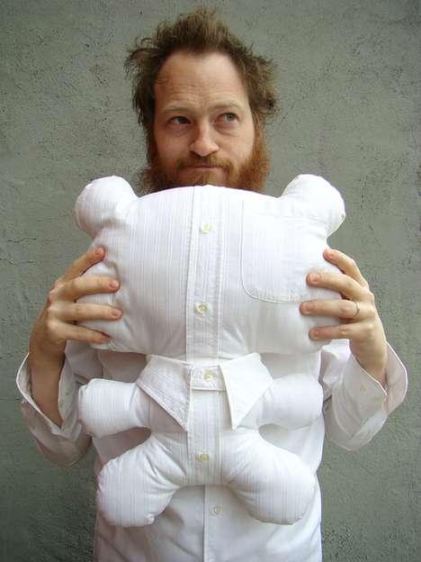Cuddly Upcycled Teddies