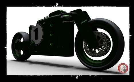 Boxy Vintage Motorbikes