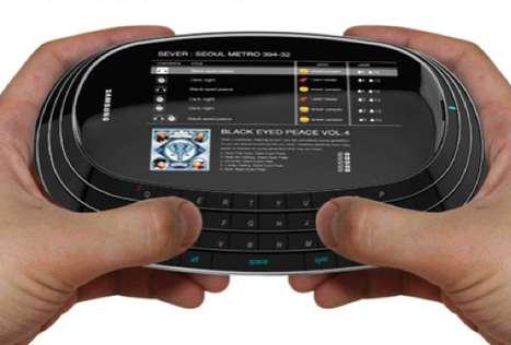 Elliptical Concept Cellphones