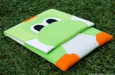 Nintendo Creature Tablet Covers - This Yoshi iPad Case has a Cartoony Charm