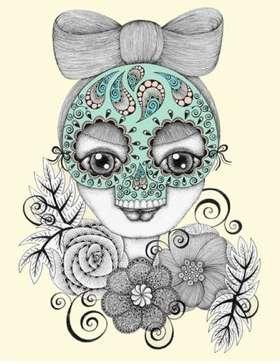Doe-Eyed Doll Illustrations