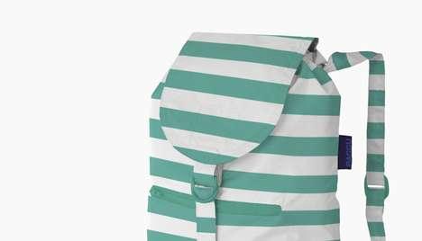 Simple Striped Sacks
