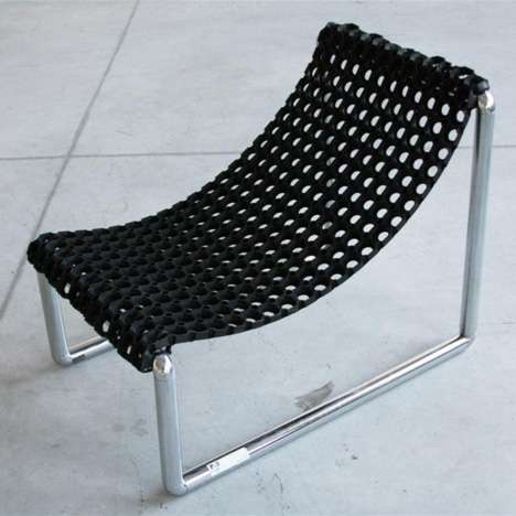 DIY Industrial Seating - Nicola Golfari's P.3 Chair is Inexpensive and Eco-Friendly