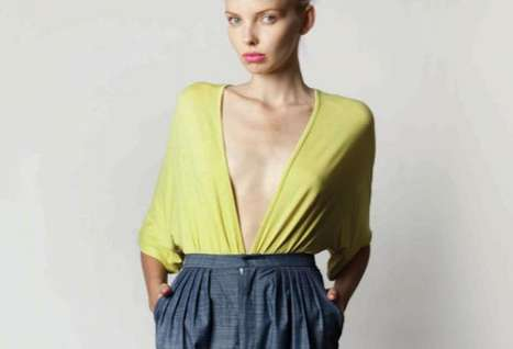 Fresh Color-Blocked Fashion