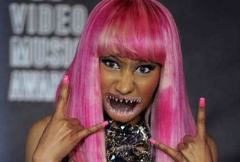 Sea Monster-Mouthed Celebs