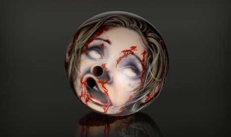 Macabre Bowling Balls