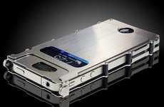 Heavy Metal Mobile Sheaths - The iNoxCase Stainless Steel Case Protects iPhones with an Attitude