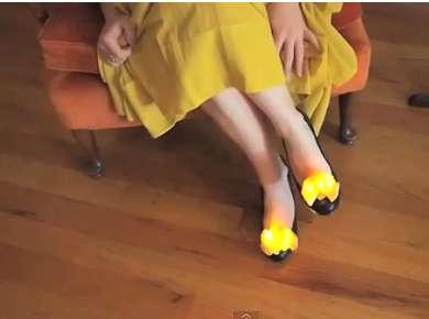 DIY Twinkling Toes