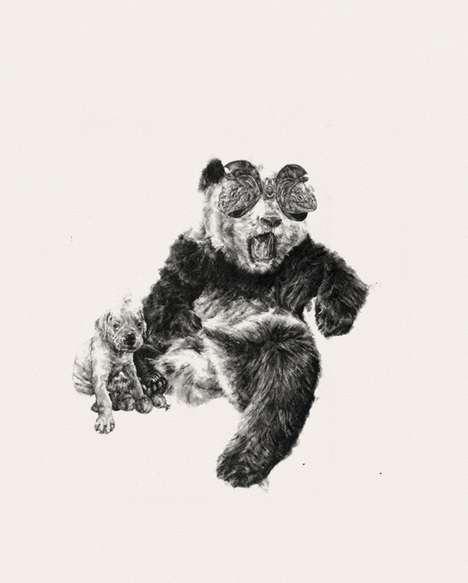 Hybrid Animal Illustrations