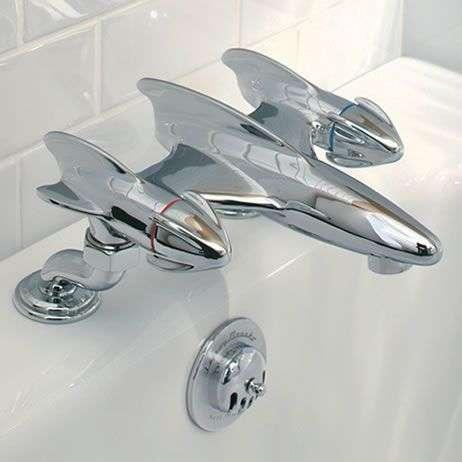 Futuristic Plane Faucets