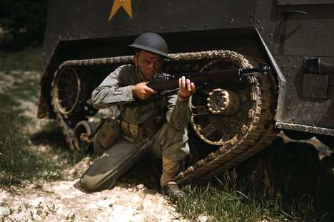 In Focus Releases the Largest Collection of Colored WW2 Photographs