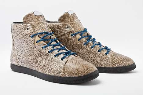 The Adidas Azzi Mid 'Croc' Offers Shoe Enthusiasts a Sleek & Modern Design