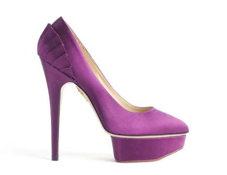 Soberingly Sky-High Heels - The Charlotte Olympia Fall/Winter Shoe Collection is Extraordinary
