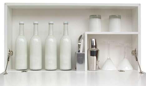 Stylish Martini Cabinets