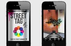 Smartphone Street Art Apps - Street Tag Lets You Virtually Tag Any Building Anywhere